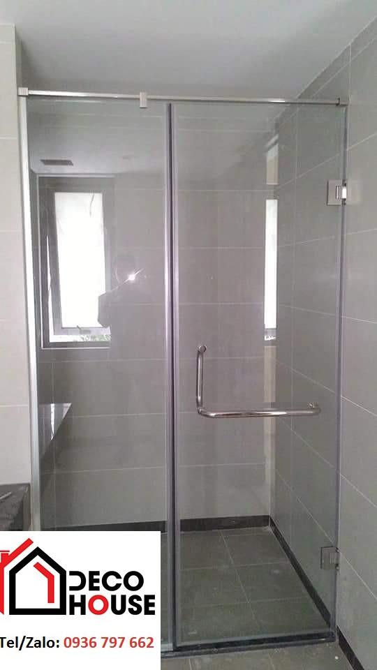 Thi công phòng tắm kính cường lực