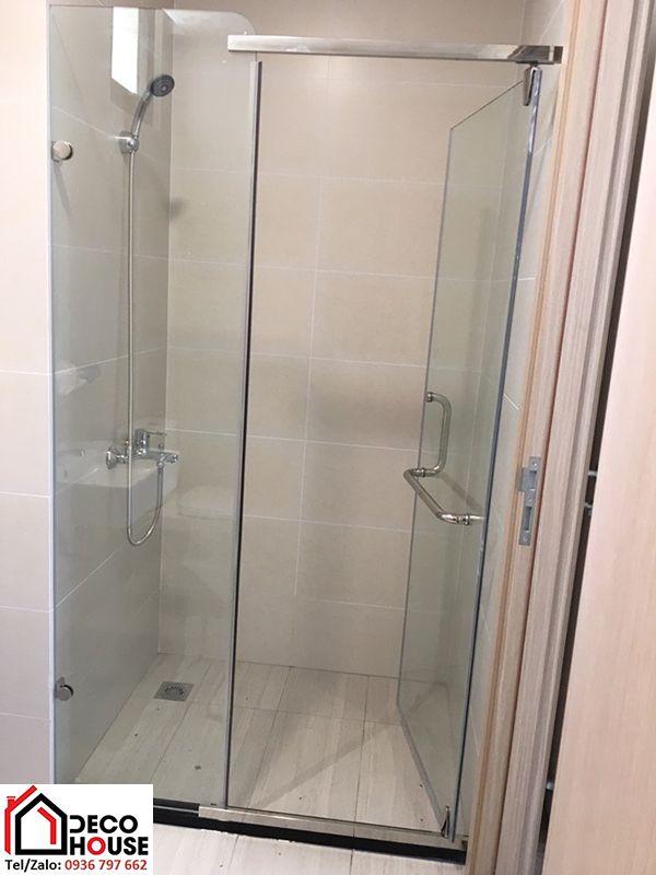 Vách kính phòng tắm nhỏ giá rẻ
